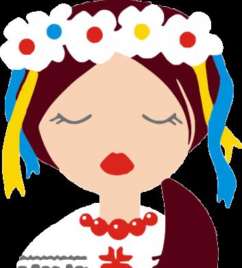 Принт Коврик для мыши Красива україночка - FatLine