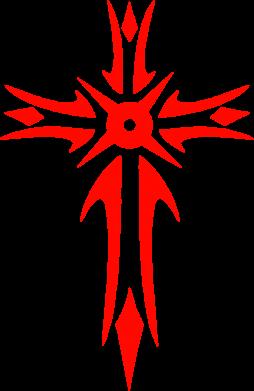 Принт Подушка Крест 2 - FatLine