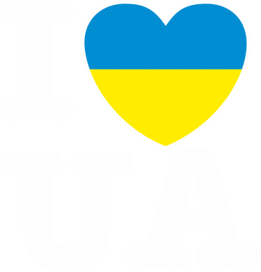 Принт Кепка I love UA - FatLine