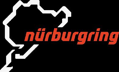 Принт Мужская футболка  с V-образным вырезом Nurburgring - FatLine