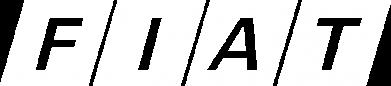 Принт Женская футболка с V-образным вырезом Fiat - FatLine