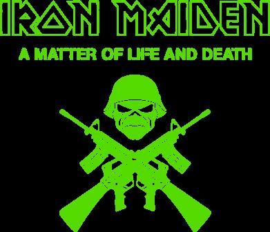 Принт Подушка Iron Maiden - FatLine