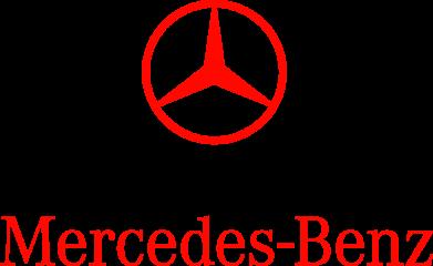 Принт Коврик для мыши Mercedes Benz logo - FatLine