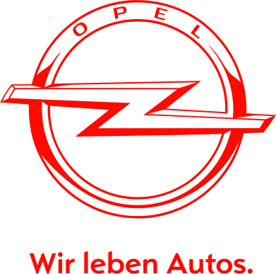 Принт Подушка Opel Wir leben Autos - FatLine