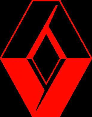 Принт Коврик для мыши Renault - FatLine