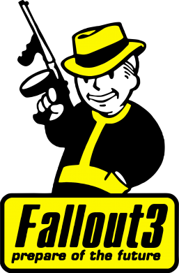 Принт Кружка 320ml Fallout 3 Logo - FatLine