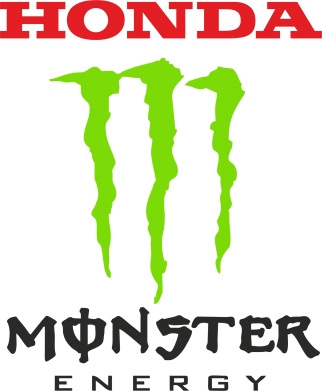 Принт Кружка 320ml Honda Monster Energy - FatLine