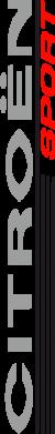 Принт Женская футболка с V-образным вырезом Citroen Спорт - FatLine