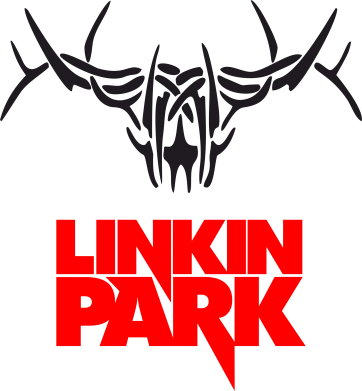 Принт Футболка Поло Linkin Park Logo - FatLine