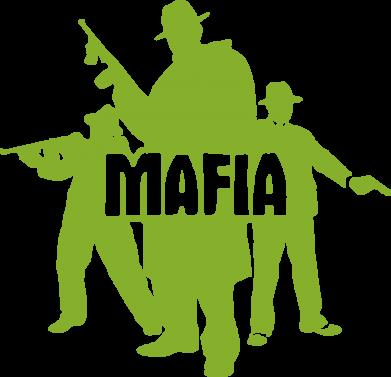 Принт Коврик для мыши Mafia - FatLine