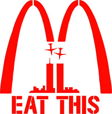 Принт Фартук Eat This USA - FatLine