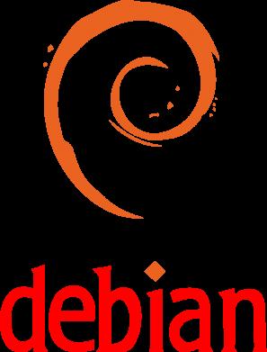 Принт Женская майка Debian - FatLine