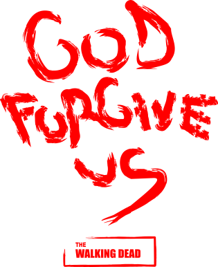 Принт Толстовка God forgive us Ходячие мертвецы - FatLine