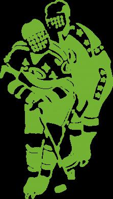 Принт Сумка Хоккеисты - FatLine
