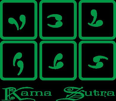 Принт Чехол для iPhone Xs Max Kama Sutra позы - FatLine