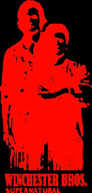 Принт Коврик для мыши Winchester Bros - FatLine