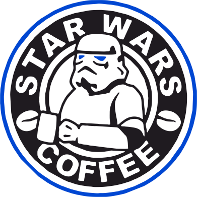 Принт Кружка 320ml Star Wars Coffee - FatLine