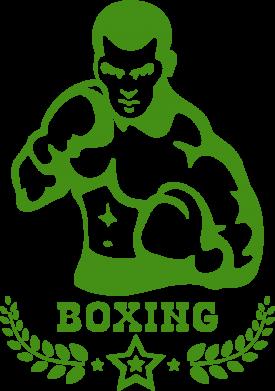 Принт Подушка Boxing Star - FatLine