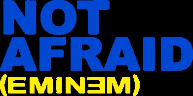 Принт Коврик для мыши Eminem Not Afraid - FatLine