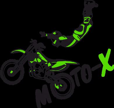 Принт Женская футболка Moto-X - FatLine
