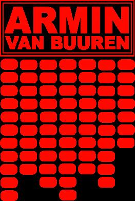 Принт Подушка Armin Van Buuren Trance - FatLine
