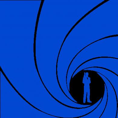 Принт Женская футболка Agent 007 - FatLine