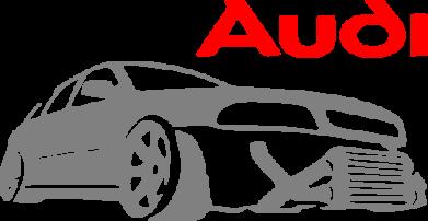 Принт Сумка Audi Turbo - FatLine