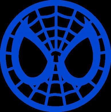 Принт Мужская майка Спайдермен лого - FatLine