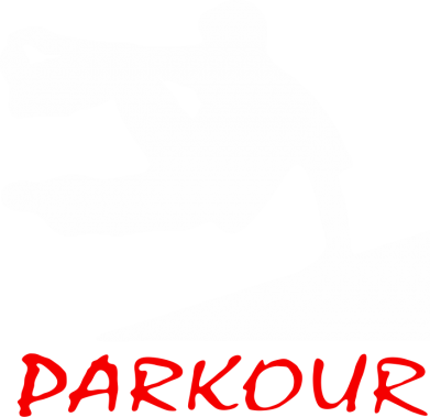 Принт Мужская толстовка Parkour Run, Фото № 1 - FatLine