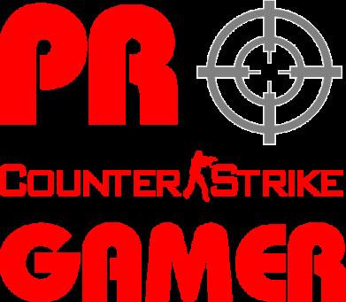 Принт Женская майка Counter Strike Pro Gamer - FatLine