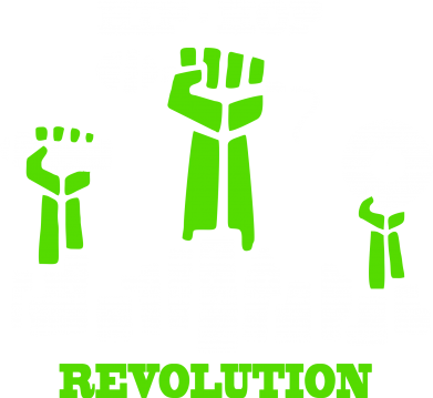 Принт Женская футболка с V-образным вырезом Hip-hop revolution - FatLine