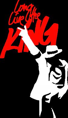 Принт Тельняшка с длинным рукавом King MJ - FatLine