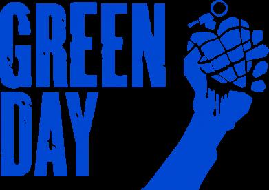 Принт Женская майка Green Day American Idiot - FatLine