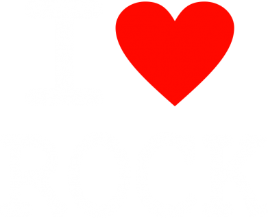 Принт Толстовка I love rock - FatLine