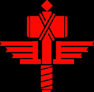 Принт Кружка 320ml Manowar Logo - FatLine
