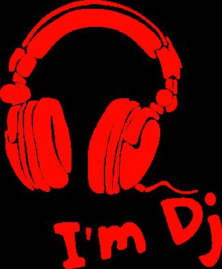 Принт Женская майка I'm DJ - FatLine