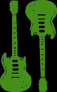 Принт Сумка Две гитары - FatLine