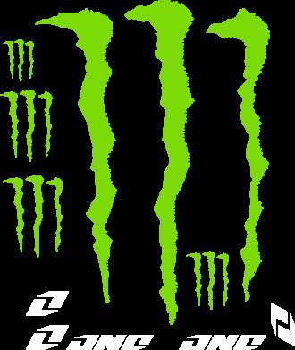 Принт Женская футболка поло Monster One - FatLine