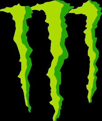 Принт Мужская майка Monster Stripes - FatLine