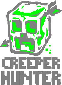 Принт Подушка Creeper Hunter - FatLine