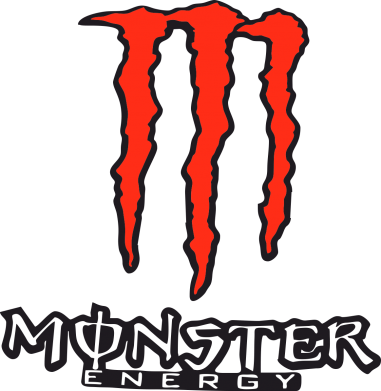 Принт Футболка Поло Monster Energy Logo - FatLine