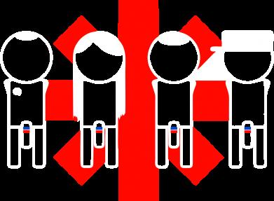 Принт Мужская толстовка на молнии Red Hot Chili Peppers Group - FatLine
