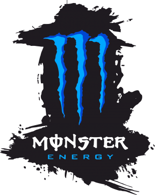 Принт Фляга Monster Energy Paint - FatLine