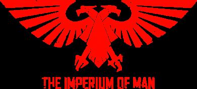 Принт Женская майка Imperium of Man - Warhammer 40K - FatLine
