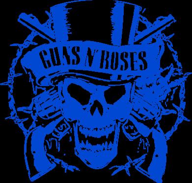 Принт Мужская майка Guns n' Roses Logo - FatLine