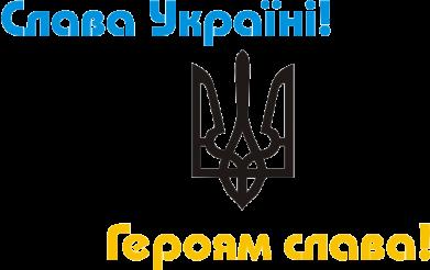 Принт Детская футболка Слава Україні! Героям Слава! - FatLine