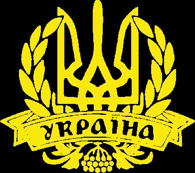 Принт Тельняшка с длинным рукавом Вінок з гербом - FatLine