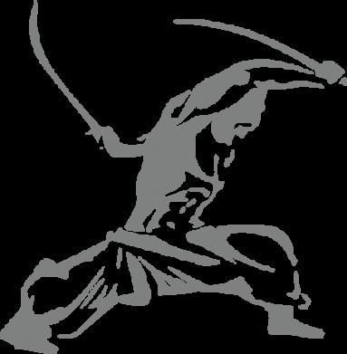 Принт Мужская толстовка на молнии Козак з шаблями - FatLine