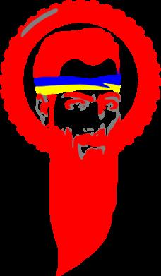 Принт Футболка Борода патріота - FatLine