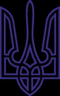 Принт Фартук Герб України (полий) - FatLine